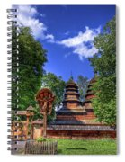 Holy Wood Spiral Notebook