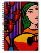 Homage To Picasso Spiral Notebook