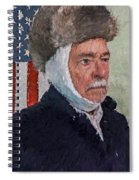 Homage To Van Gogh Two Spiral Notebook