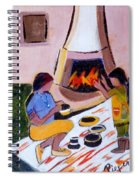 Home And Hearth In Taos Spiral Notebook