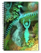 Home Awaits Me Spiral Notebook