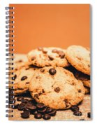 Home Baked Chocolate Biscuits Spiral Notebook