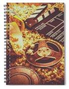 Home Cinema Art Spiral Notebook
