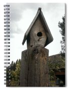 Home For The Birds Spiral Notebook