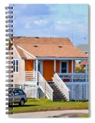 Home In Nags Head 3 Spiral Notebook