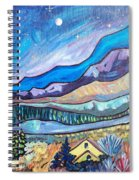 Home In The Hills Spiral Notebook