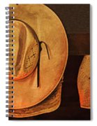 Home Is Where Ya Hang Yer Hat Spiral Notebook