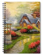 Home Is Where You Find Real Love Spiral Notebook