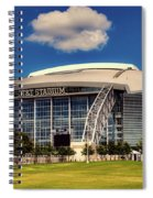 Home Of The Dallas Cowboys Spiral Notebook