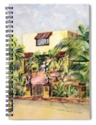 Home On Belmont Shore Spiral Notebook