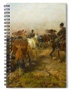 Home On Horseback Spiral Notebook