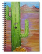 Home Sweet Cactus Spiral Notebook