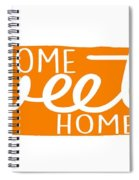 Home Sweet Home Tennessee Spiral Notebook