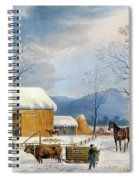 Home To Thanksgiving, 1867 Spiral Notebook