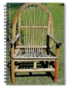Homemade Lawn Chair Spiral Notebook