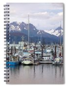 Homer Harbor Spiral Notebook