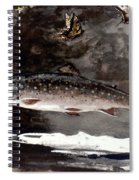 Homer: Trout, 1889 Spiral Notebook