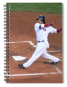 Homerun Swing Spiral Notebook