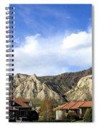 Homes And Hoodoos Spiral Notebook