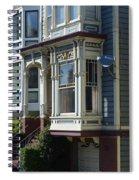 Homes Of San Francisco Spiral Notebook