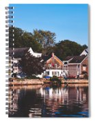 Homes On Kennebunkport Harbor Spiral Notebook