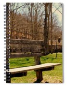 Hometown Series - Have A Seat Spiral Notebook