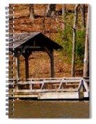 Hometown Series - Sherando Lake -2 Spiral Notebook