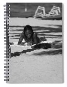 Homework At The Hollywood Beach Spiral Notebook