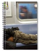 Homeless In Motion Spiral Notebook