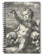 Homo Bulla Spiral Notebook