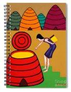 Honey 2 Spiral Notebook