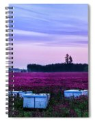 Honey In The Making Spiral Notebook