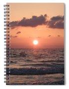 Honey Moon Island Sunset Spiral Notebook