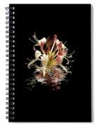 Honeysuckle Reflections Vertical Spiral Notebook