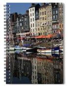 Honfleur Harbour France Spiral Notebook