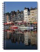 Honfleur Harbour, Normandy, France Spiral Notebook
