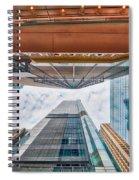 Hong Kong Buildings Colour Spiral Notebook