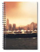 Hong Kong Harbour 01 Spiral Notebook