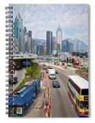 Hong Kong Traffic II Spiral Notebook