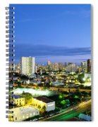 Honolulu City Lights Spiral Notebook