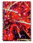 Honolulu Fireworks Spiral Notebook