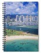 Honolulu, Oahu Spiral Notebook