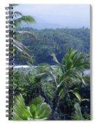 Honomaele Near Mokulehua At Hale O Piilani Heiau Hana Maui Hawaii Spiral Notebook