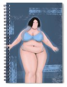 Honor My Curves Spiral Notebook