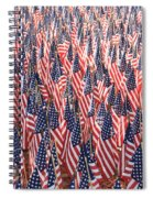 Honoring Those Who Have Sacrificied All Spiral Notebook