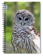 Hoo Are You Spiral Notebook