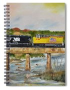 Hooch - Chattahoochee River - Columbus Ga Spiral Notebook