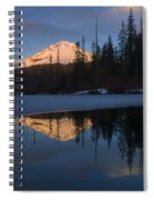 Hood Alpenglow Spiral Notebook