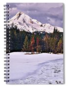 Hood On Ice Spiral Notebook