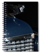 Hood Ornament-1938 Cadillac V-16 Town Sedan Spiral Notebook